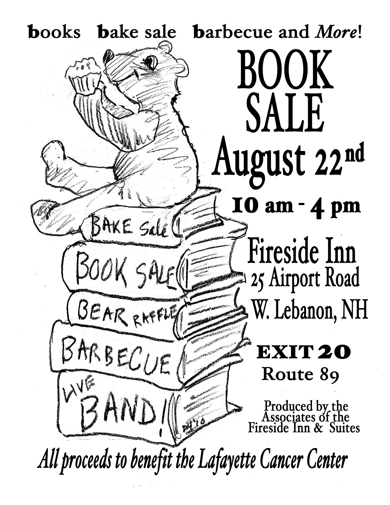 Book Sale at the Fireside Inn